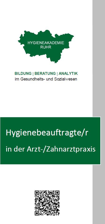 Hygienebeauftragte/r in der Arzt-/Zahnarztpraxis